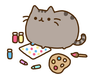 Animated Cat Birthday Clipart